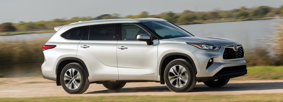 Cover Photo of  TOYOTA Highlander 2020