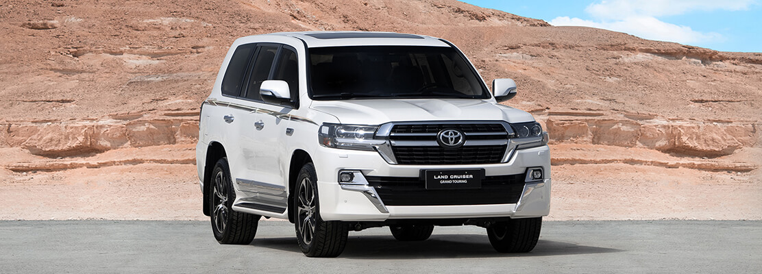 Cover Photo of  TOYOTA LAND CRUISER GXR-Grand Touring 2021