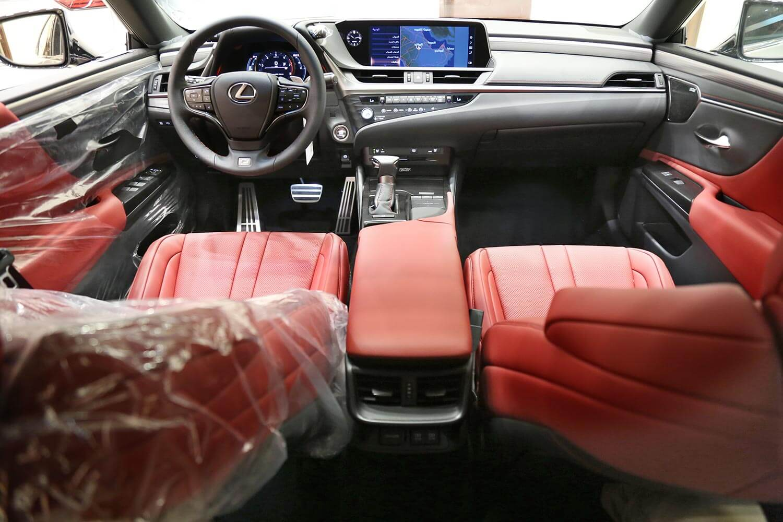 Interior Image for  LEXUS ES350 F . SPORT 2019