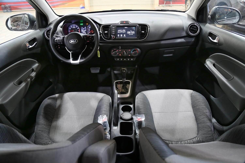 صورة داخلية للسيارة  كيا بيجاس EX 2021