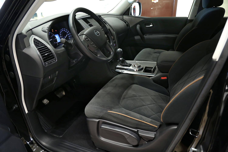 صورة داخلية للسيارة  نيسان باترول XE 2019