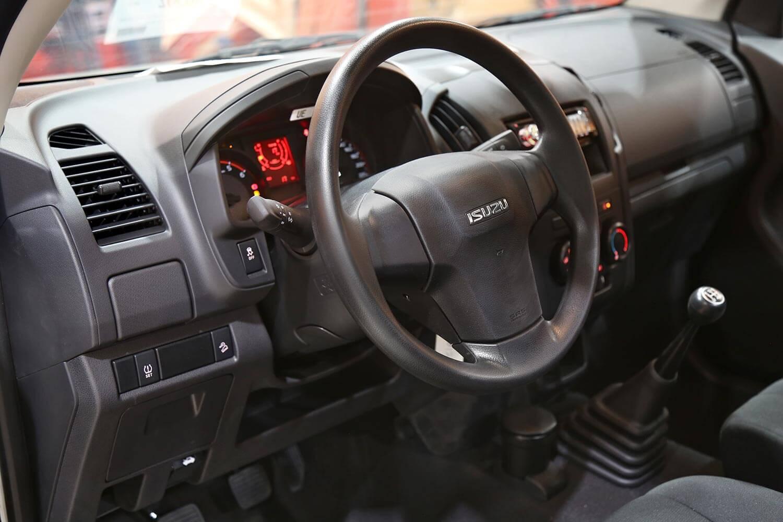 صورة داخلية للسيارة  ايسوزو غمارة جوانب 2020