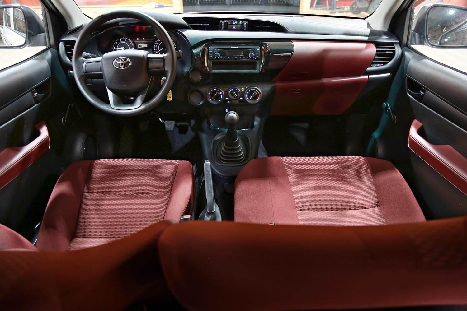 Interior Image for  TOYOTA HILUX GL-D4D 2020