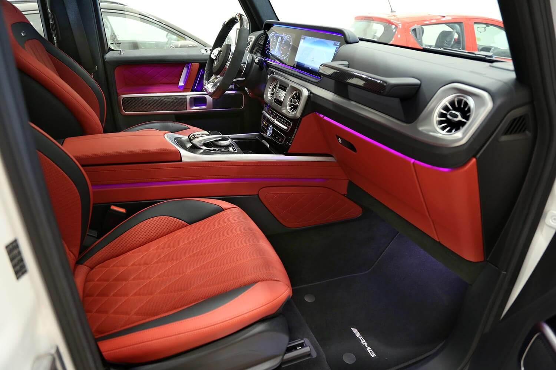 صورة داخلية للسيارة  مرسيدس بنز G63 AMG 2020