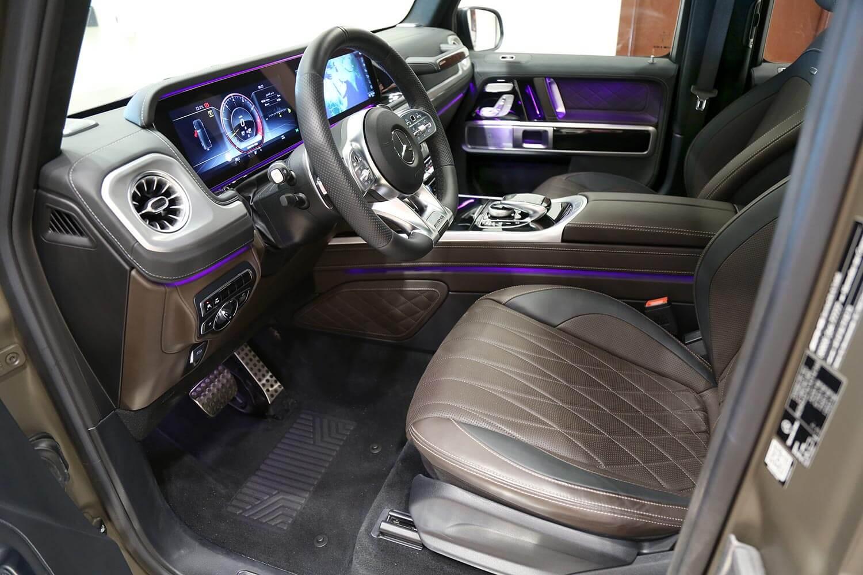 صورة داخلية للسيارة  مرسيدس بنز G63 AMG-Adition 2020