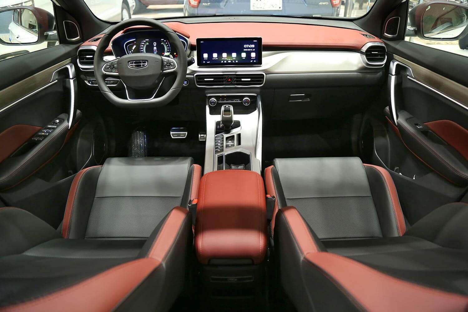 Interior Image for  GEELY Coolray GF 2021