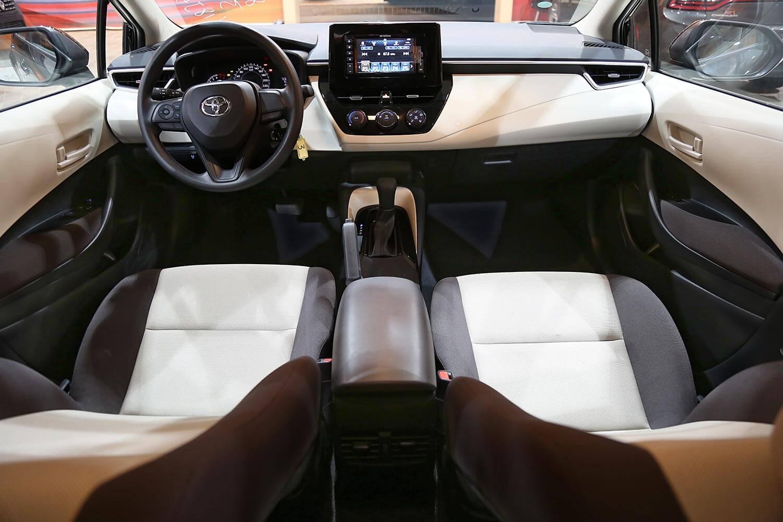 صورة داخلية للسيارة  تويوتا كورولا XLI-EXECUTIVE 2020