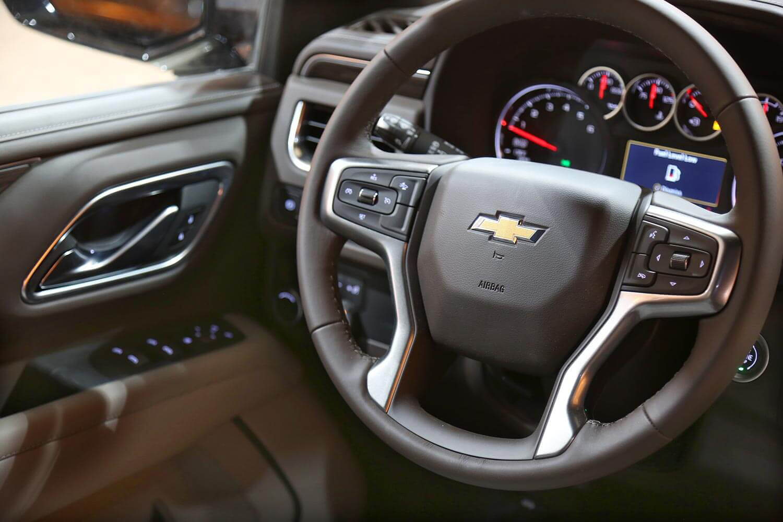 صورة داخلية للسيارة  شفروليه تاهو LT 2021