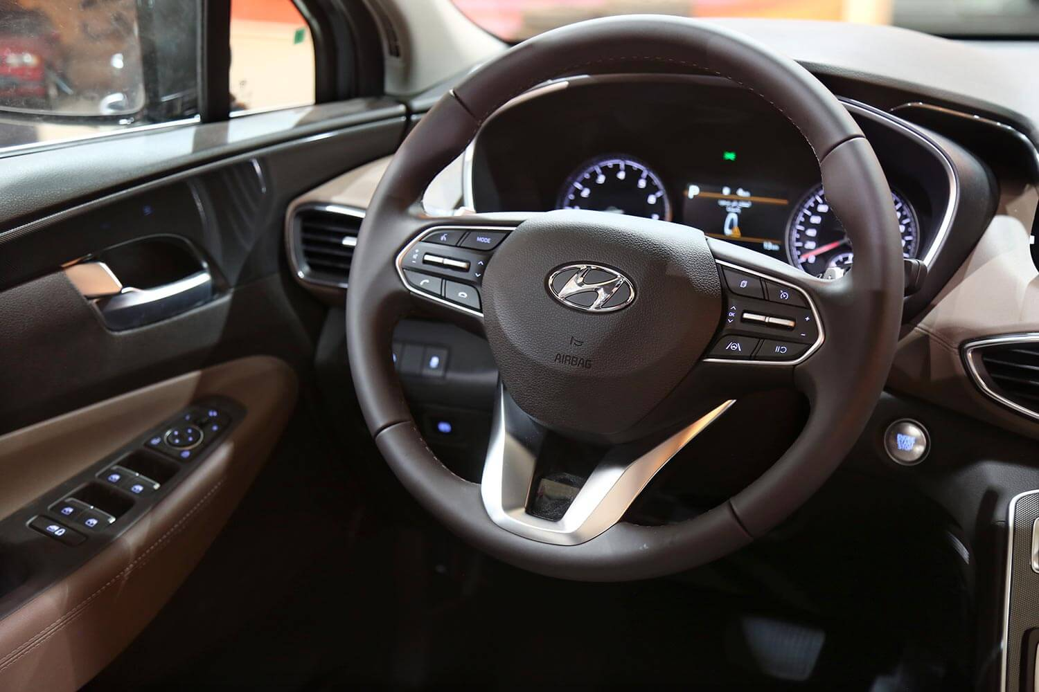 Interior Image for  HYUNDAI SANTAFE SMART-PLUS 2021