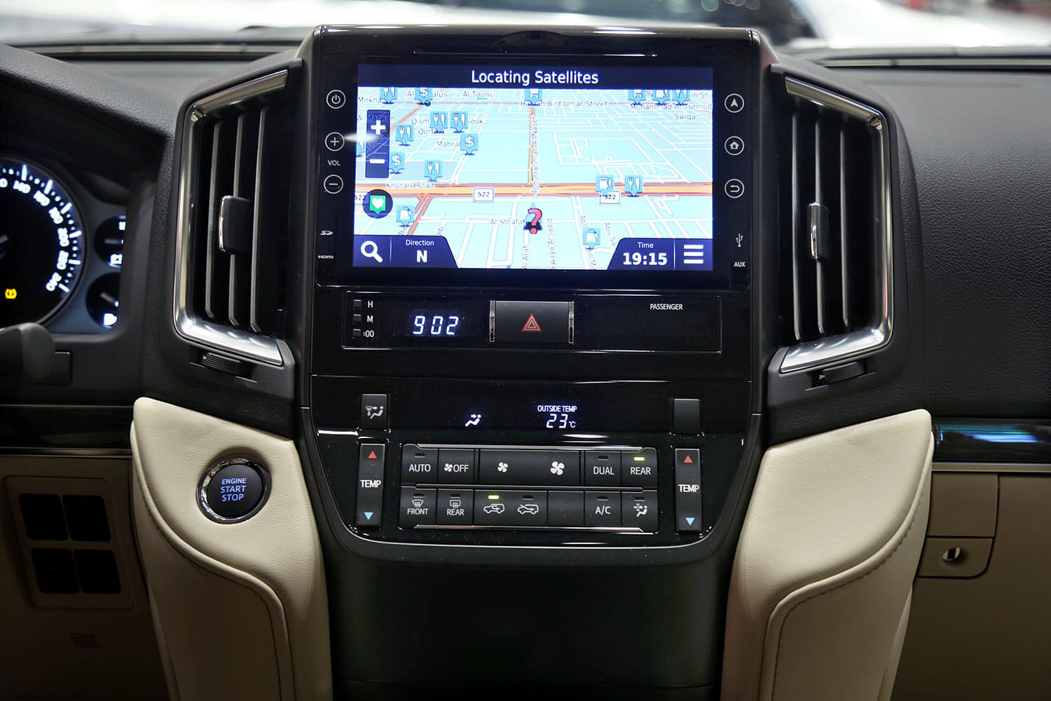 Interior Image for  TOYOTA LAND CRUISER GXR-Grand Touring 2021