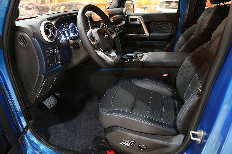 صورة داخلية للسيارة  بايك BJ40 PLUS شامبيون 2021