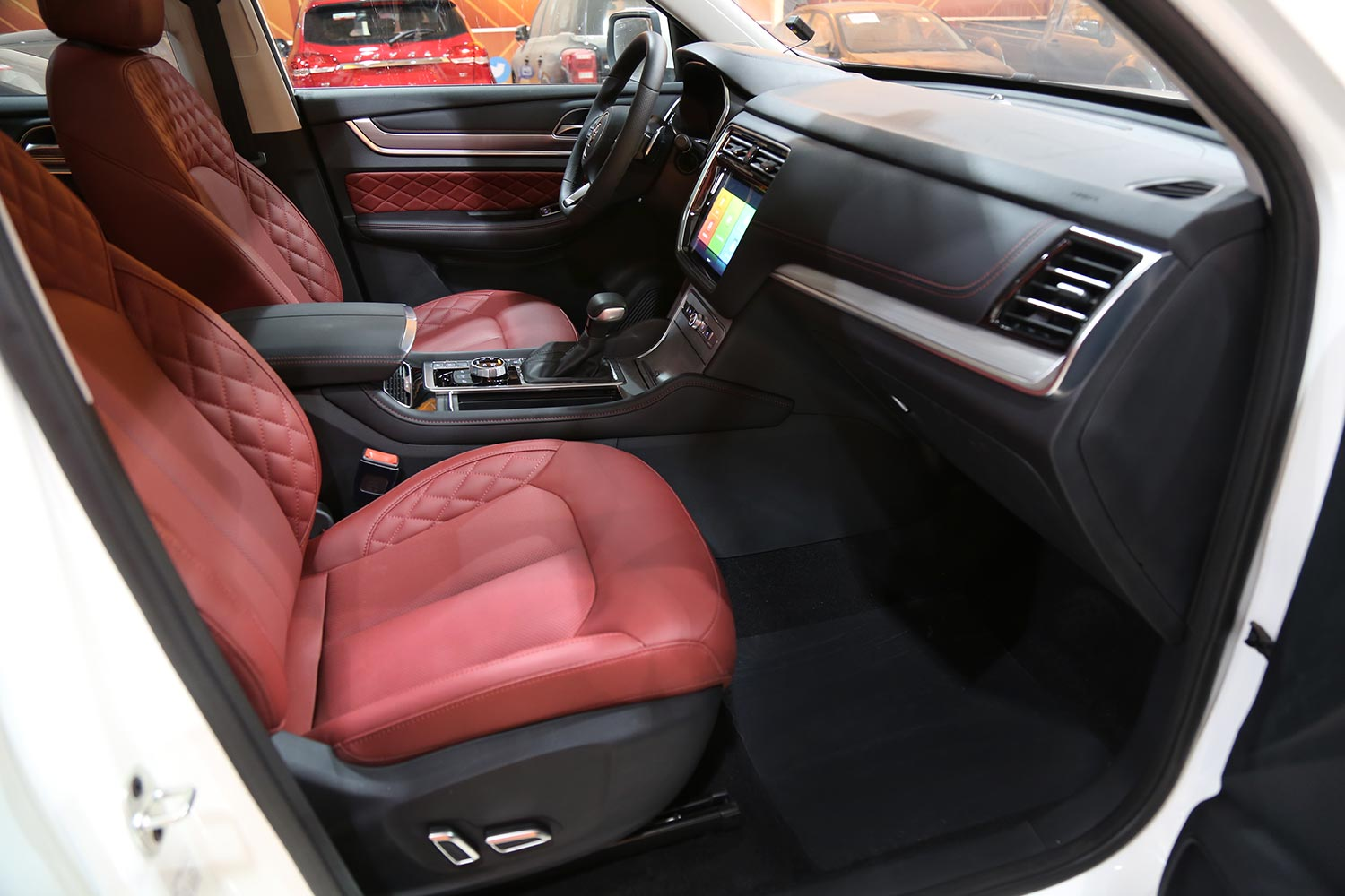 Interior Image for  MG RX8 LUX 2021