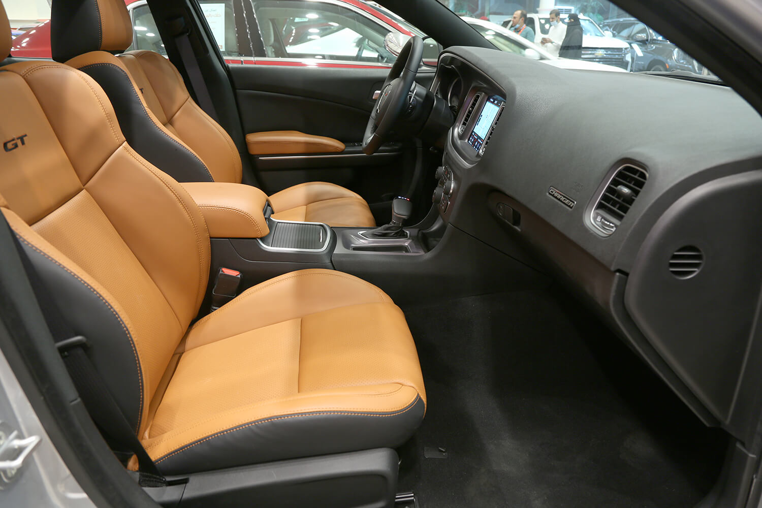 Interior Image for  DODGE Charger GT- leather 2021