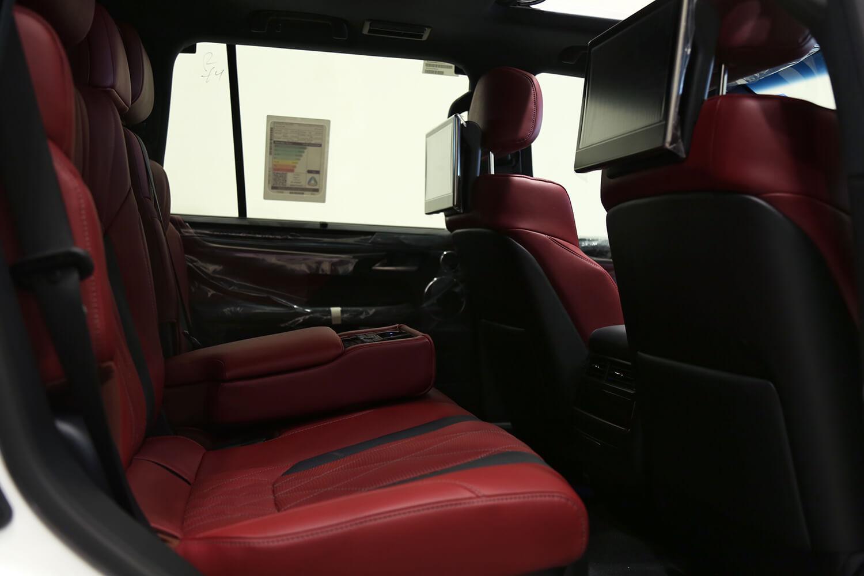 Interior Image for  LEXUS LX570 black edition 2021