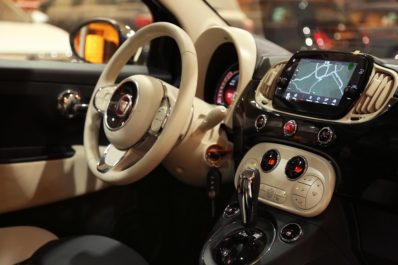 Interior Image for  FIAT 500 Hatchback base 2021