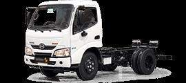 HINO Chassis Trucks300 614XZU600 2020