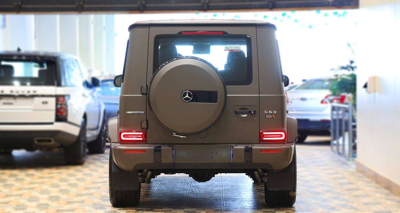 صورة خارجية للسيارة  مرسيدس بنز G63 AMG-Adition 2020