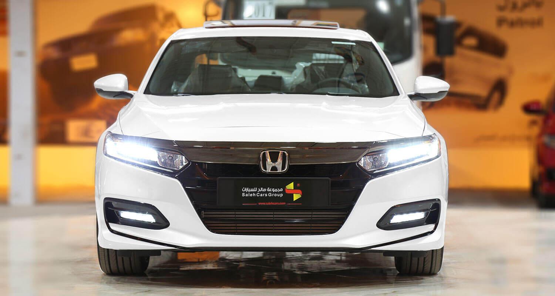 صورة خارجية للسيارة  هوندا اكورد LX SPORTجلد احمر 2019