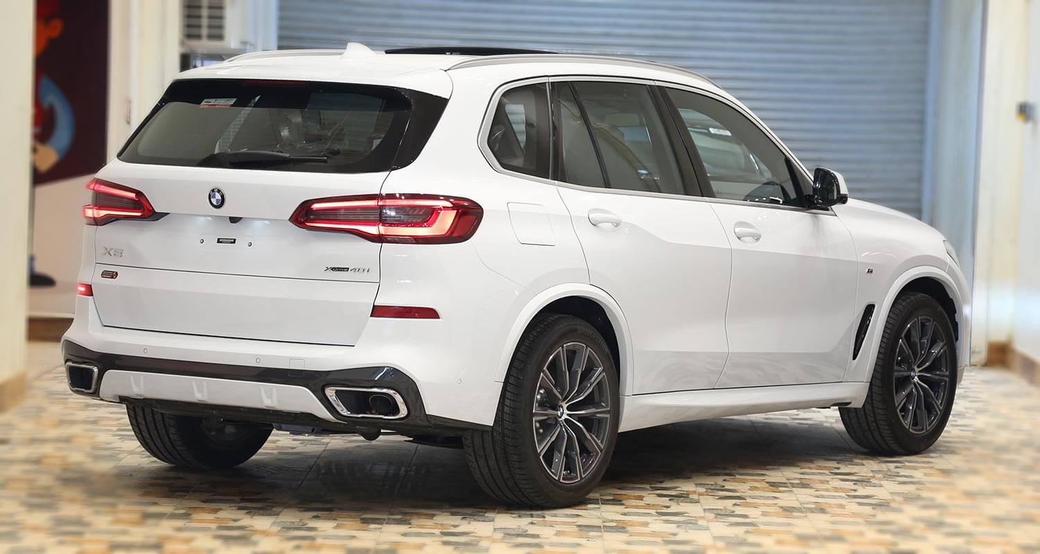 Exterior Image for  BMW X5 x-Drive40i 2020