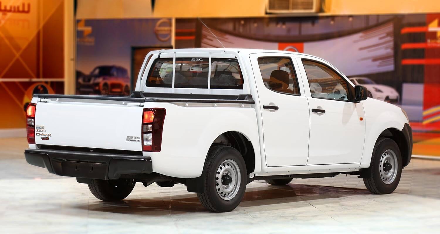 Exterior Image for  ISUZU D-MAX Two lights 2020