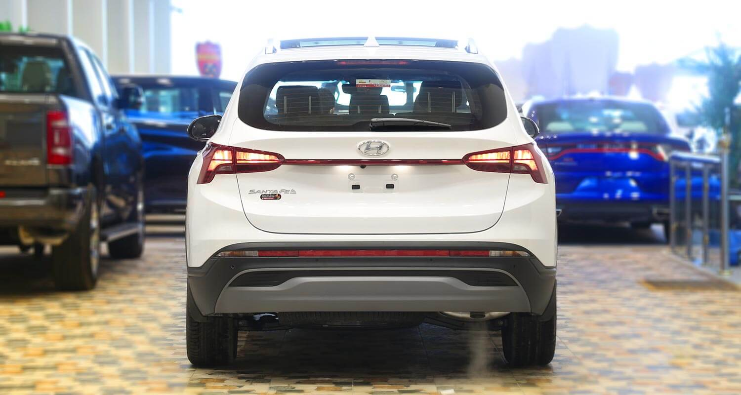 Exterior Image for  HYUNDAI SANTAFE SMART-PLUS 2021