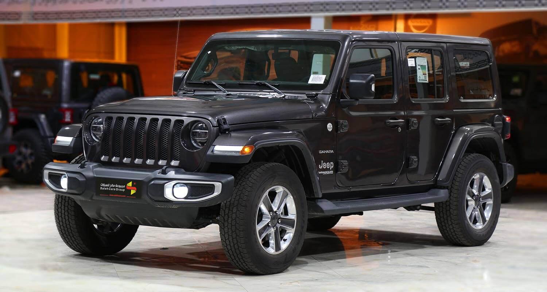 Exterior Image for  Jeep Wrangler Sahara Plus 2021