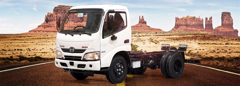 صورة غلاف  هينو شاحنة شاسيه 300 614XZU600 2020