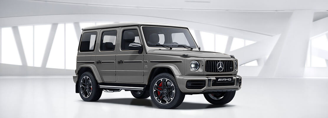 Cover Photo of  MERCEDES BENZ G63 AMG-Adition 2020