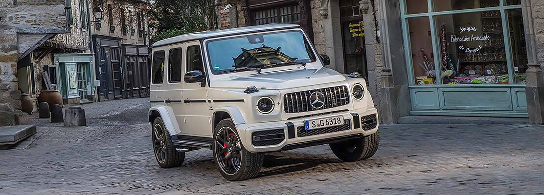 Cover Photo of  MERCEDES BENZ G63 AMG 2020