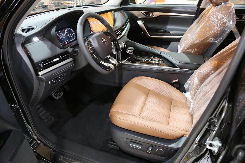 صورة داخلية للسيارة  شانجان CS95 Platinum دبل 2021