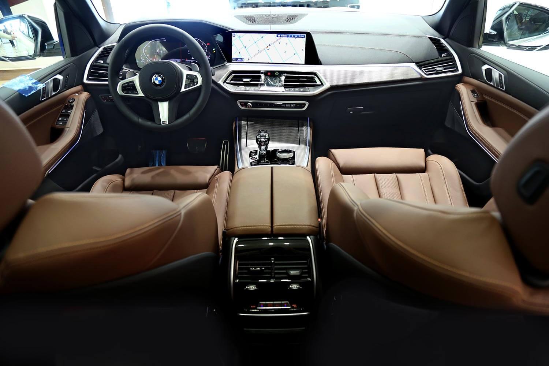 صورة داخلية للسيارة  بي ام دبليو X5 x-Drive40i 2020