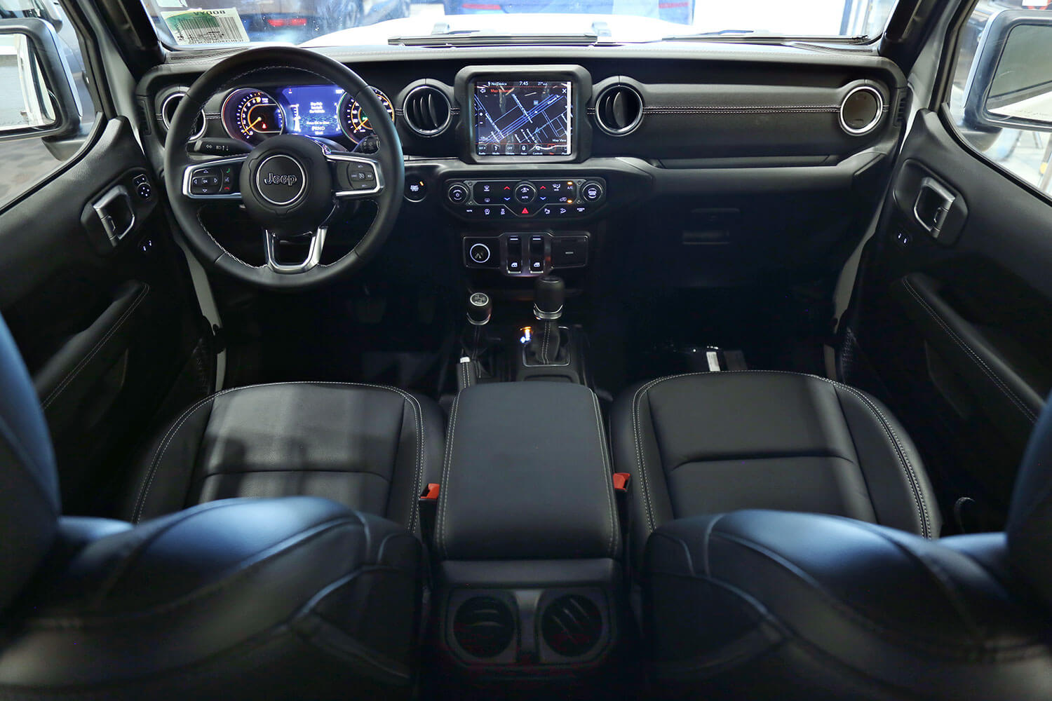 Interior Image for  Jeep Wrangler Sahara Plus 2020