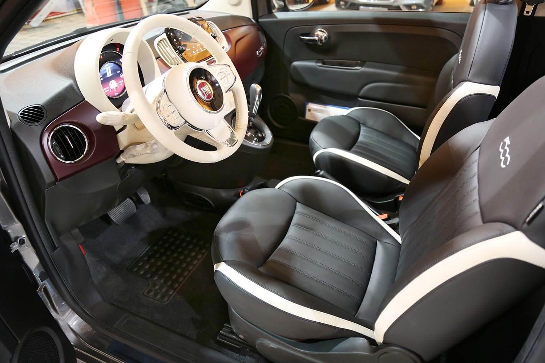 Interior Image for  FIAT 500C Convertible 2021