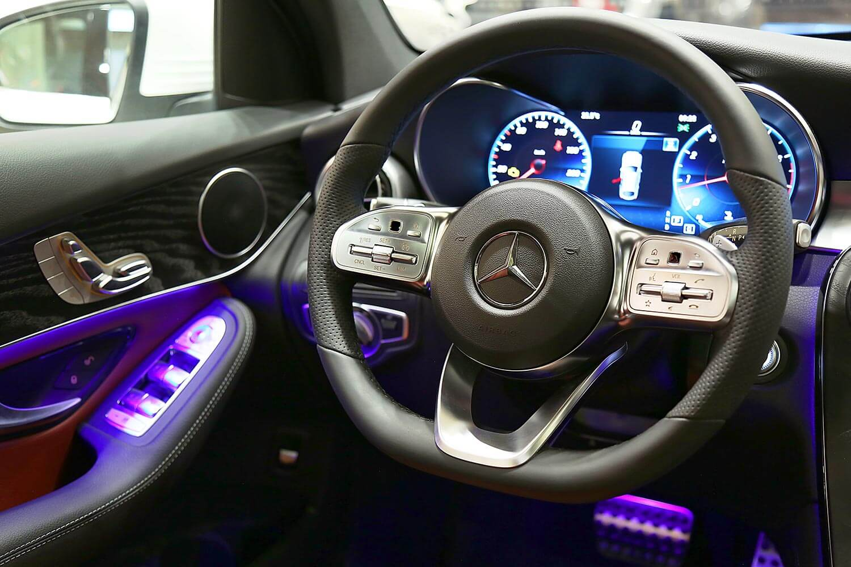 Interior Image for  MERCEDES BENZ GLC 300 2020