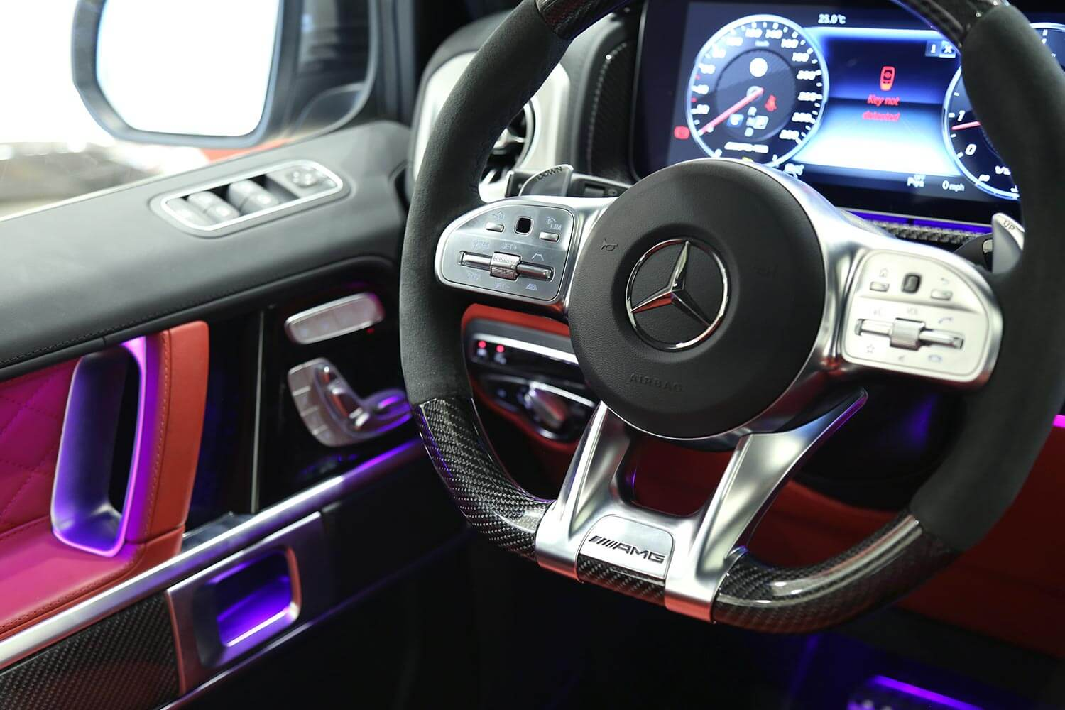 Interior Image for  MERCEDES BENZ G63 AMG 2020
