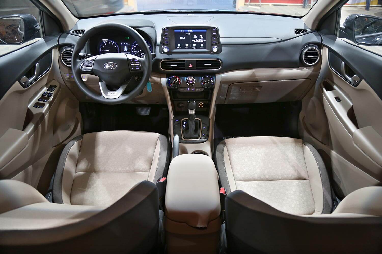 صورة داخلية للسيارة  هيونداي كونا GLS 2020