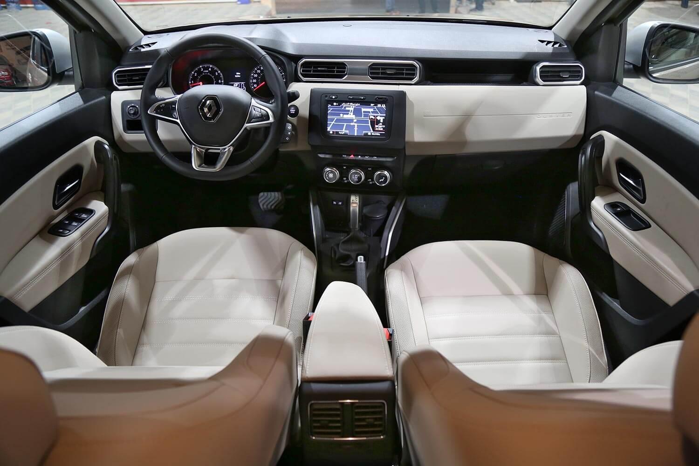 صورة داخلية للسيارة  رينو داستر LE 2021