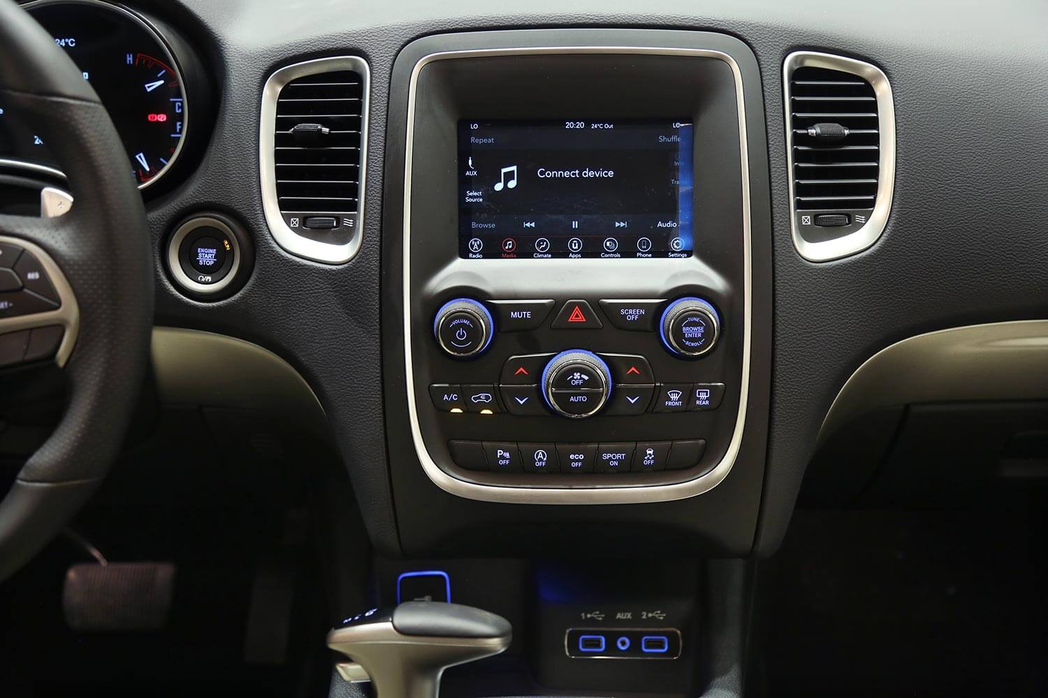 Interior Image for  DODGE DURANGO SXT-PLUS 2020