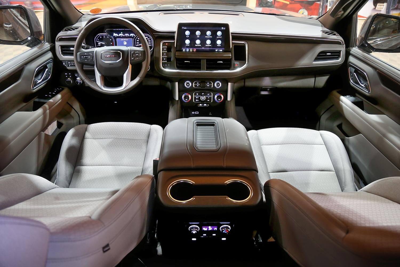 Interior Image for  GMC YUKON SLE 4X4 2021