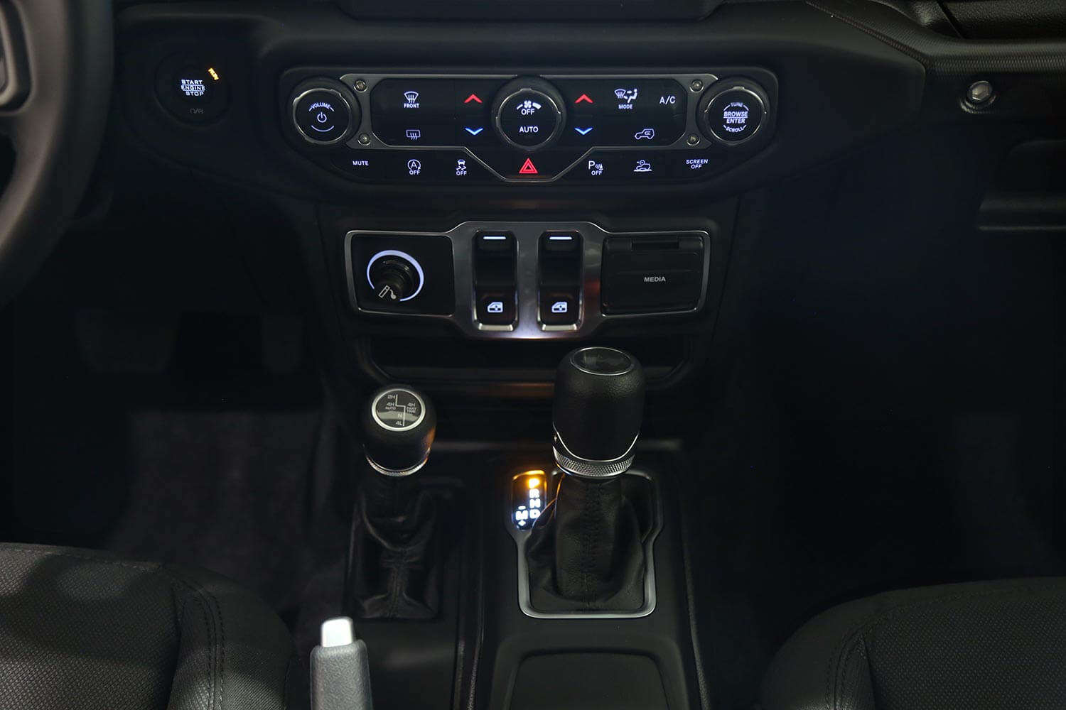 Interior Image for  Jeep Wrangler SPORT 2021