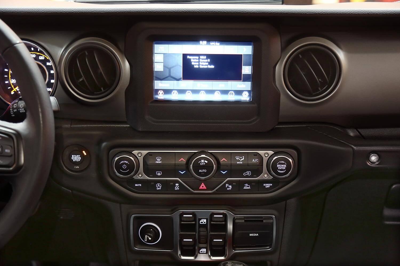 Interior Image for  Jeep Wrangler SPORT 2021