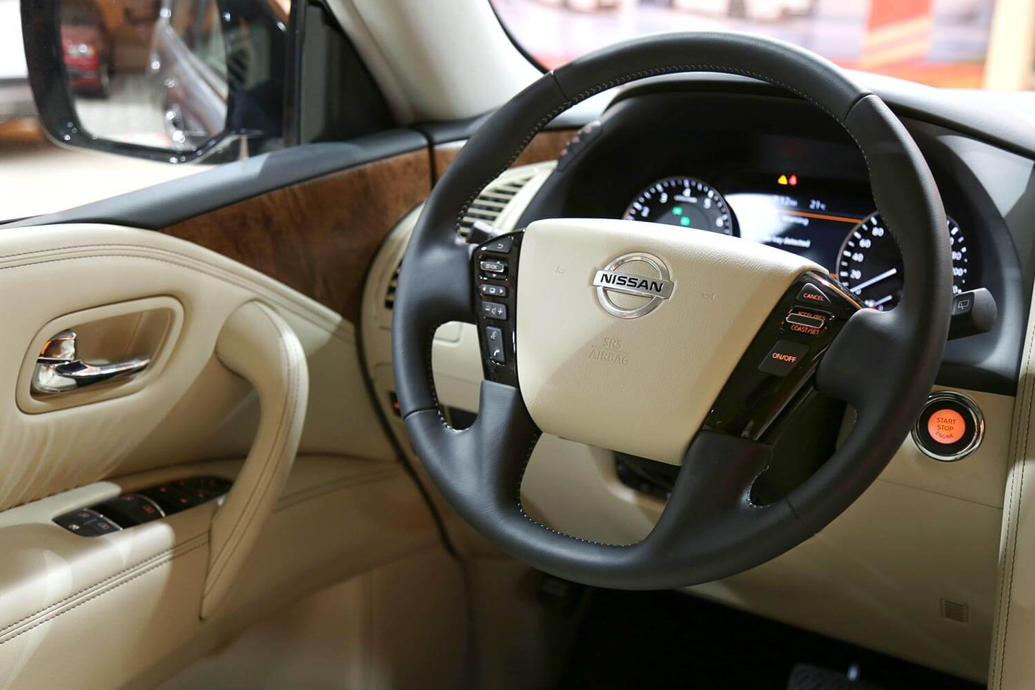 Interior Image for  NISSAN PATROL SE2 2021