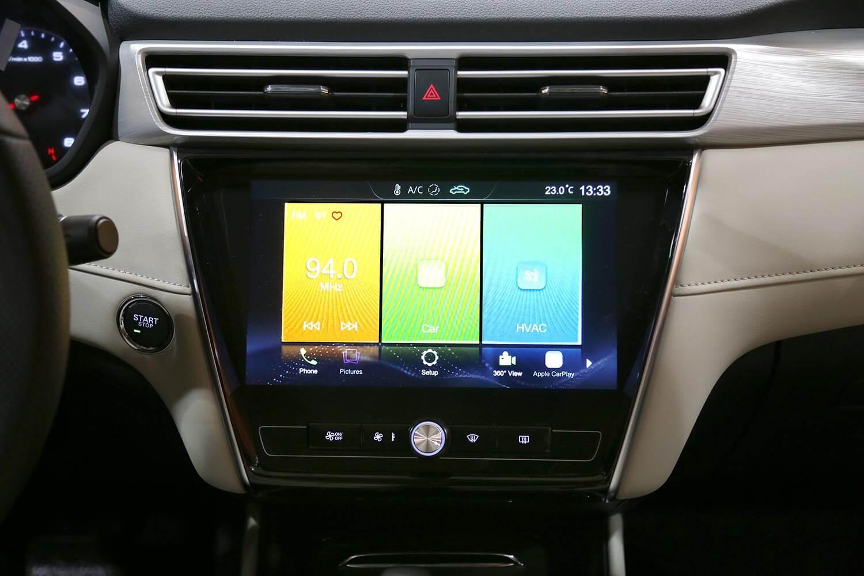 صورة داخلية للسيارة  ام جي 5 DEL 2021