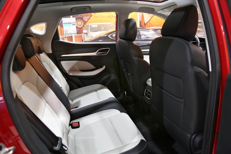 صورة داخلية للسيارة  ام جي ZS LUX 2021