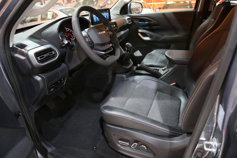 صورة داخلية للسيارة  شانجان Hunter Delta-4WD 2021
