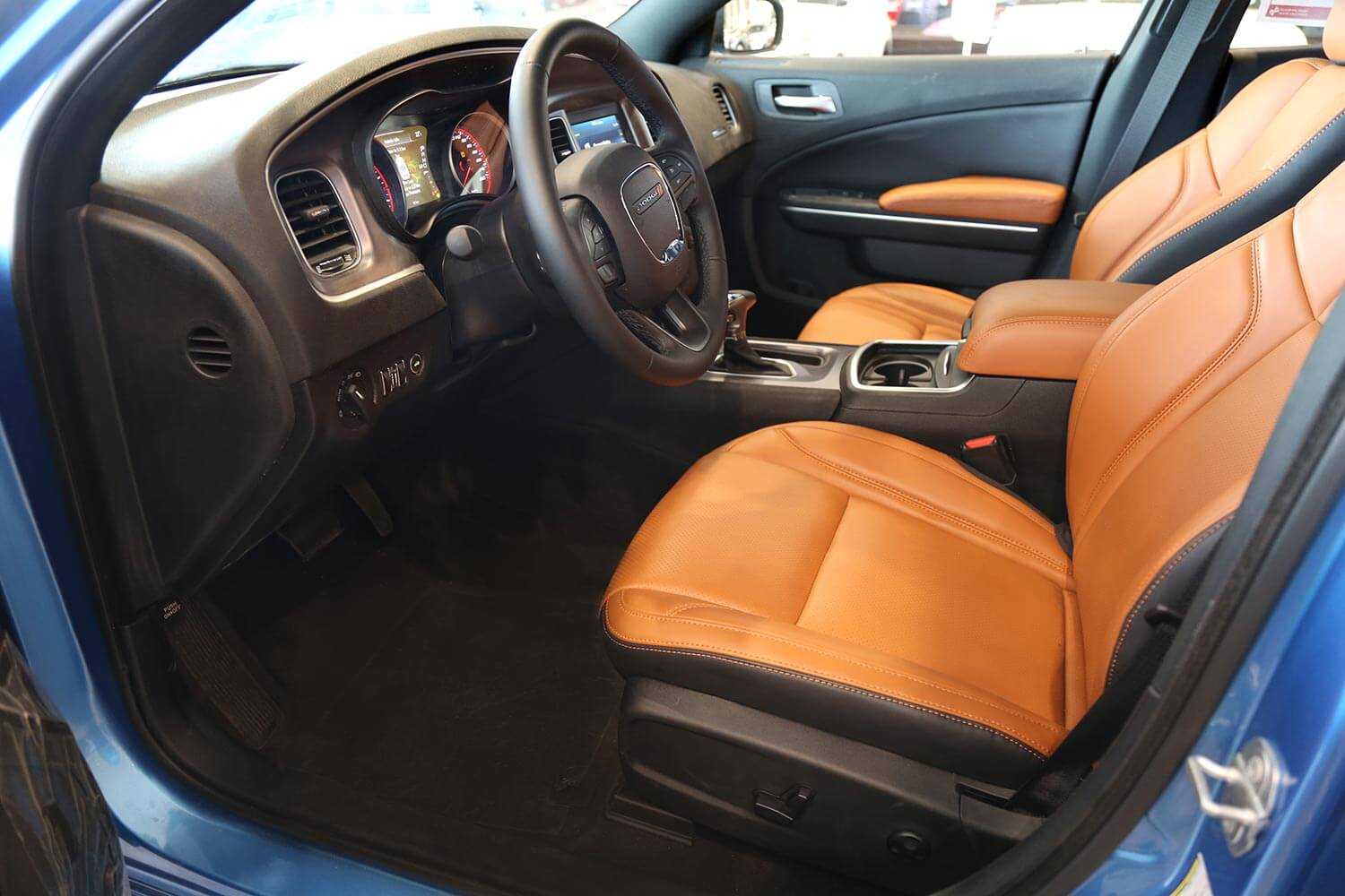 Interior Image for  DODGE Charger SXT-A Camel Leather 2020