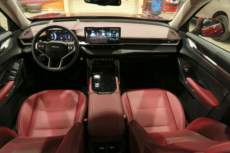 صورة داخلية للسيارة  هافال H6 بريميوم 2021
