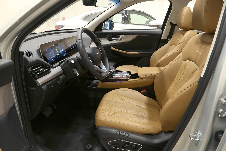 صورة داخلية للسيارة  بايك X7 2021