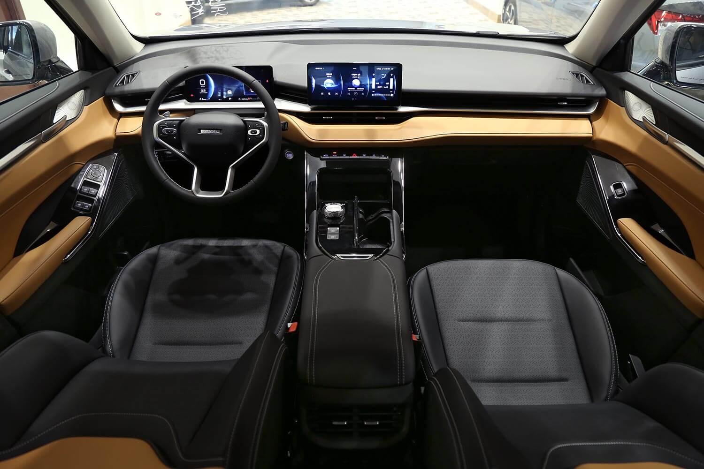 صورة داخلية للسيارة  هافال H6 اكتيف 2021
