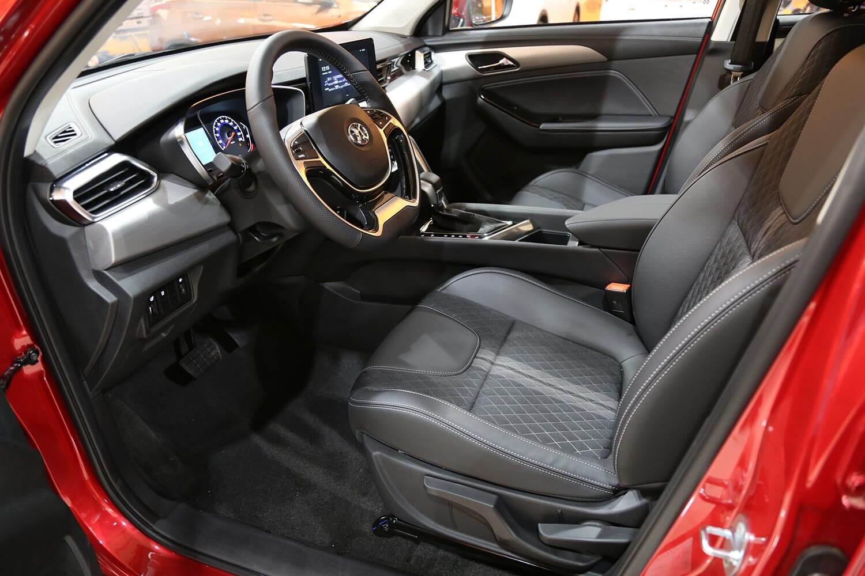 صورة داخلية للسيارة  بايك X35 لكجري 2021